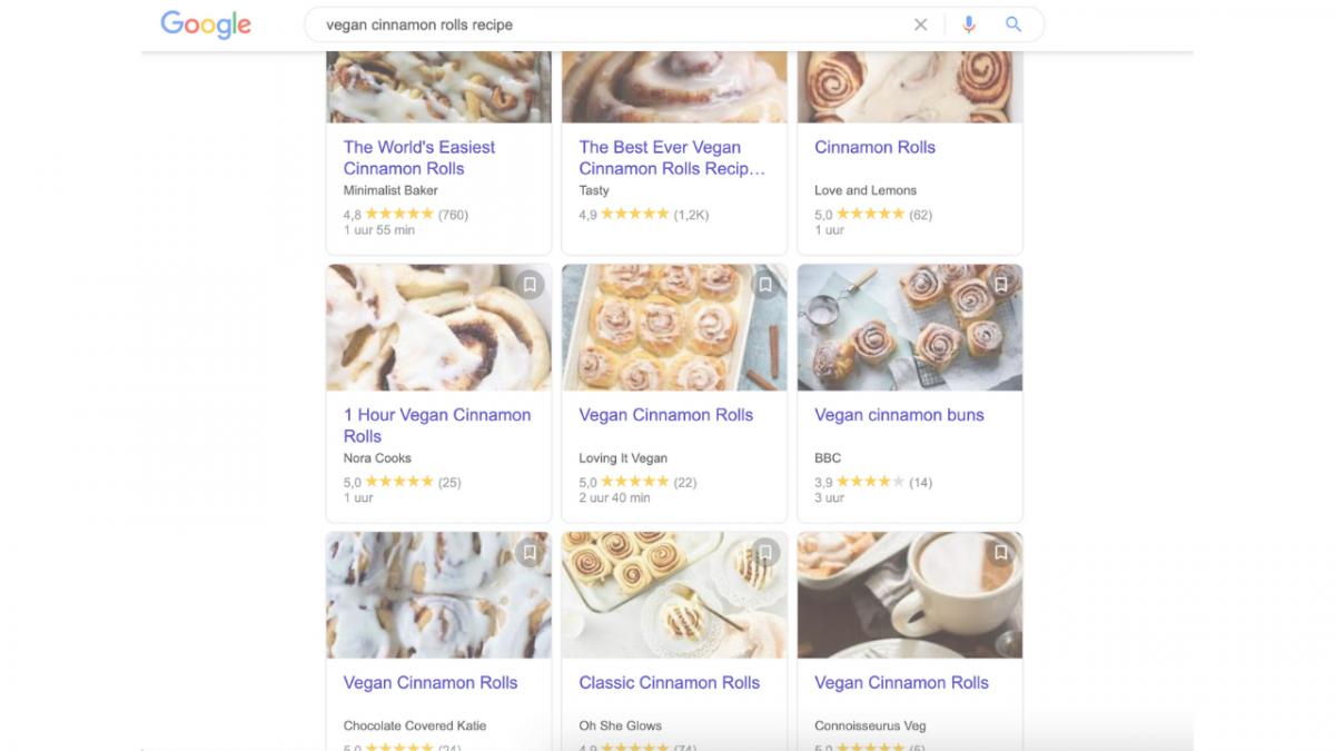 This is why food websites test your patience with 10+ photos of food, recipe writer's life stories and endless scrolling,