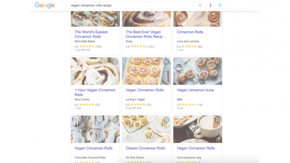 why food websites